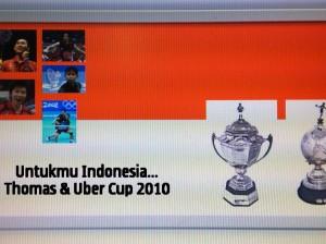 Saatnya Indonesia Juara Piala Thomas & Uber